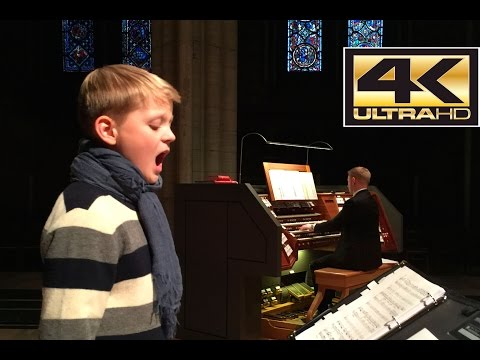 Let the Bright Seraphim - Aksel JS Rykkvin (boy soprano) - Magne H Draagen (organ) - April 2015