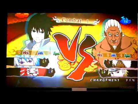 Naruto Shippuden: Ultimate Ninja Storm Generation: Sasuke vs Raikage Live Demo