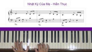 Nhật Ký Của Mẹ (Mother's Diary) by Nguyen Van Chung Piano Tutorial