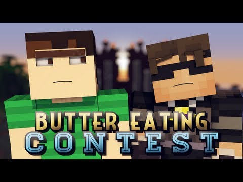 Butter Eating Contest!?!?