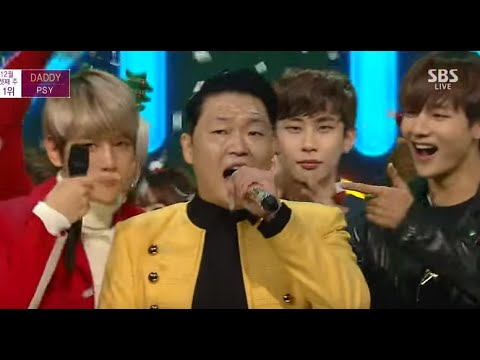 EXO AND BTS DANCE DADDY PSY
