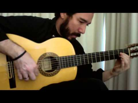 Francisco Tarrega - Recuerdos De La Alhambra No Tremolo