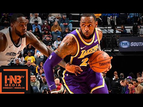 Los Angeles Lakers vs Memphis Grizzlies Full Game Highlights | 12.08.2018, NBA Season