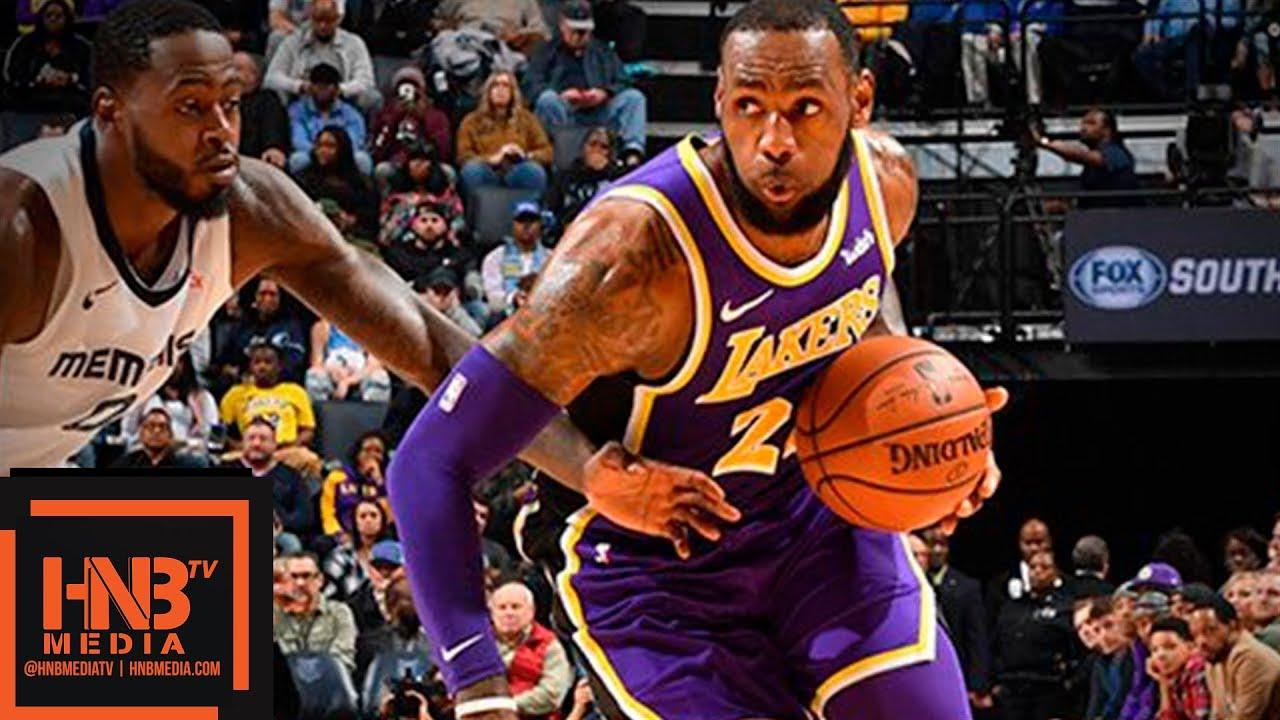 Los Angeles Lakers vs Memphis Grizzlies Full Game Highlights | 12.08.2018, NBA Season