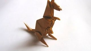 Origami Kangaroo By Peter Engel (part 2 Of 2)