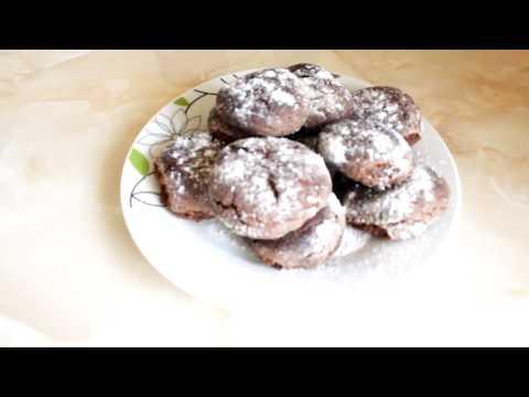 Шоколадное Печенье / Chocolate Cookies Recipe / Очень Простой Рецепт (Вкусно и Быстро)