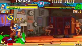 Marvel vs Capcom Mega Man/Chun-Li Playthrough 1/2