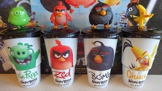 2016 Angry Birds Movie Cinema Pack Figures Full Set in Europe