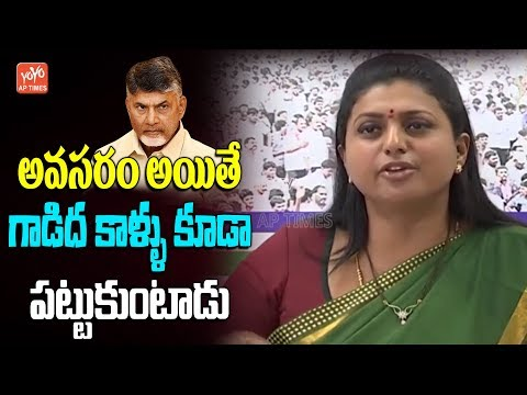 MLA Roja Comments On Chandrababu Over Alliance With Pawan Kalyan | AP Elections 2019 | YOYO AP Times