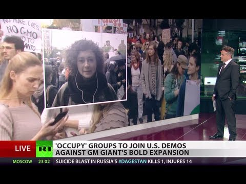 US takes to streets to march against Monsanto & GMO future