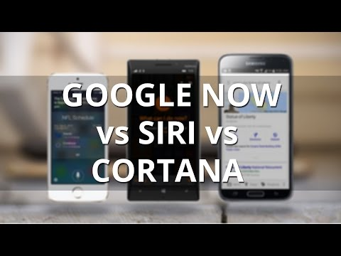 Google Now vs Siri vs Cortana: showdown