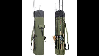 Fishing Portable Multifunction Nylon Fishing Bags Fishing Rod Bag Case Fishing Tackle Tools Storage
