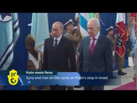 Putin Visits Israel, Palestinians: Russian President Faces Pressure for Supporting Syria's Assad