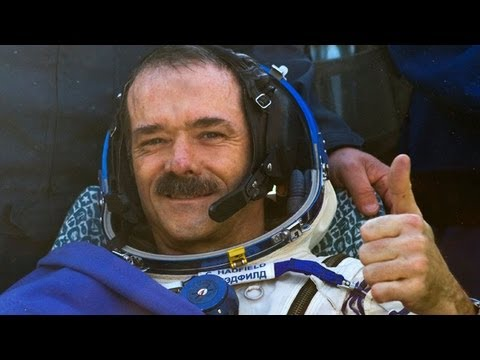 ISS commander Chris Hadfield returns to Earth