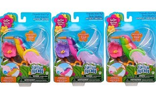 Flutter Friends Hummingbird Unboxing Toy Review Emerald, Melody and Nectar