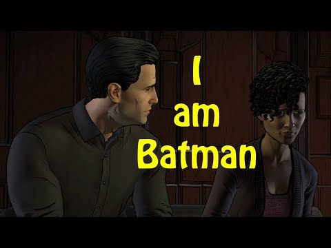 Bruce Reveals his Identity to Tiffany - Batman the enemy within Episode 3 Fractured Mask (PS4 Pro)