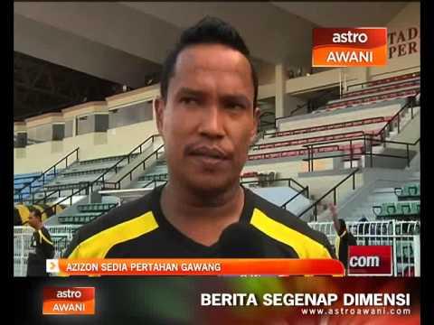 Penjaga gol kedua Perak, Azizon Abdul Kadir sedia galas tugas sebaik mungkin andai diberi tanggungjawab untuk mengawal gawang menjelang pertemuan dengan Selangor malam ini. Sila layari http://www....