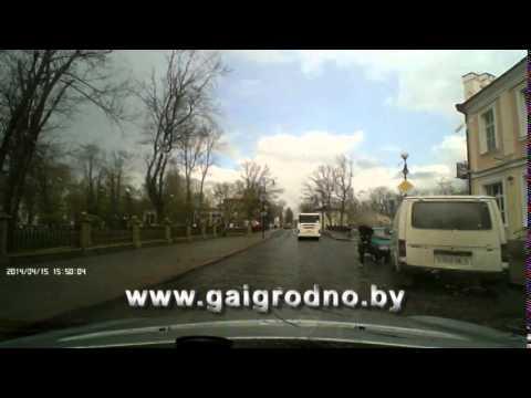 Наезд на подростка в Гродно 15042014