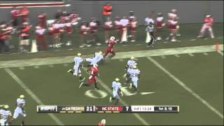 Georgia Tech vs NC State_ 2011 ACC Football Highlights