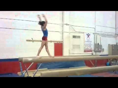 Bianca Leon Gymnastic Preparing For Olympics 2016 -