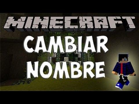 COMO CAMBIAR TU NOMBRE DE USUARIO Minecraft Premium 1.8