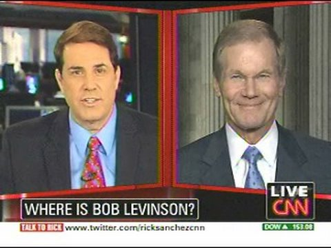 CNN interview on the disappearance of Bob Levinson in Iran