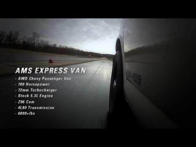 "AWD Turbo LSX ""AMS Express"" Van - 12 Second, 700hp!!!"