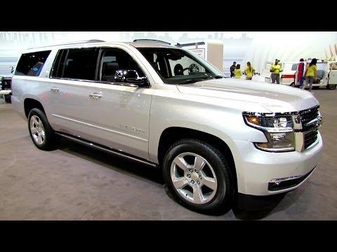 2015 Chevrolet Suburban LTZ - Exterior and Interior Walkaround - 2014 Chicago Auto Show