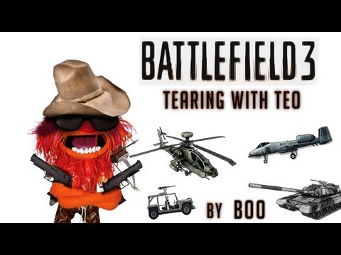 Conquest Gameplay | Tearing with Teo - Battlefield 3