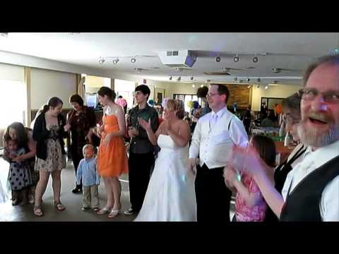 Ed And Lee's Wedding Reception - The Hokey Pokey video