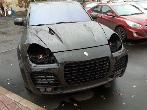 Брошенные авто Москвы - лучшее январь 2017 abandoned car