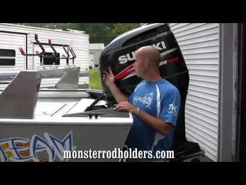 Catfishing Rod Rack:Monster Rod Holders