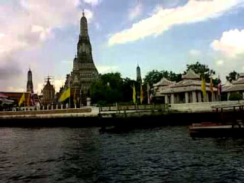 Chao Praya River cross (short trip )