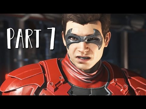 INJUSTICE 2 Walkthrough Gameplay Part 7 - Nightwing (Story Mode)