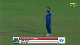 Afghanistan premier league 14 Oct 2018 6 sixes of six ball by hazratullah (subscribe my channel)