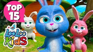Sleeping Bunnies - TOP 15 Songs for Kids on YouTube