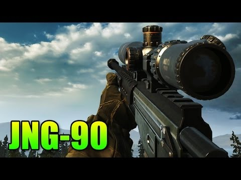 Battlefield 4 - Sniper Sunday JNG-90 Review