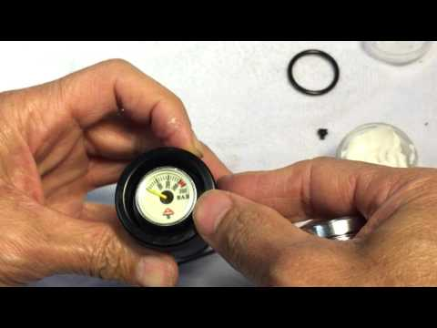 Vulcan fill valve gauge    reassembly