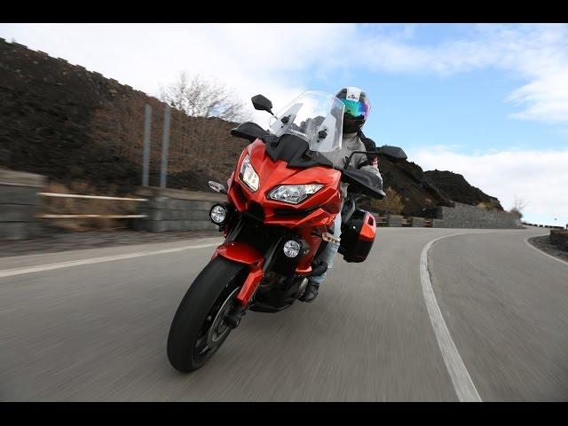 Vid�o Essai Kawasaki Versys 650 et 1000 : Belles �volutions !