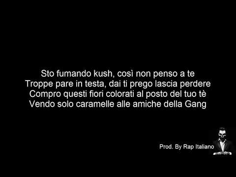 TESTO DARK POLO GANG  CARAMELLE Feat  Peachwalnut Prod  by Sick Luke
