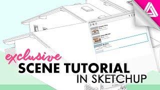 Sketchup Scenes Tutorial