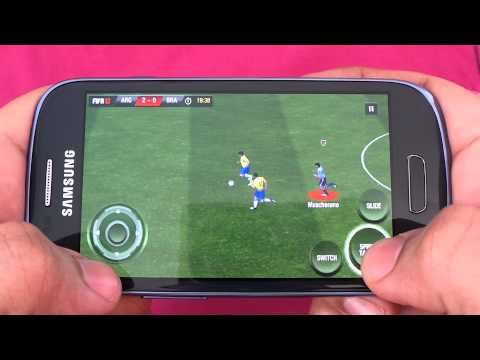 SAMSUNG GALAXY S3 MINI FIFA 12 GAMEPLAY