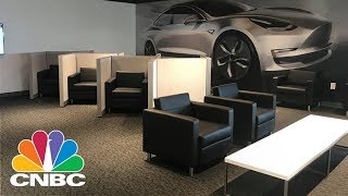 A Visit To The Only Telsa Supercharger Station With A Lounge | CNBC