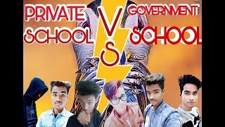 Private School Vs Government School ft. Harsh Beniwal || The Worst Vines||