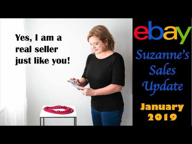 Suzannes eBay Sales Update January 2019   See What I Sold and What the Average Person Can Do