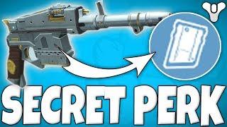 Destiny 2 - THE SECRET EXOTIC PERK GLITCH!