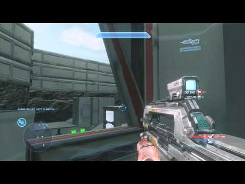 Halo 4 New Playlist (Community Forge Island) Map