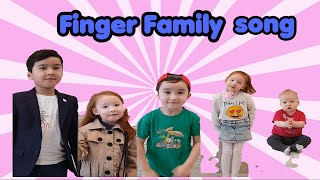 Dameli pretend play Finger Family.  Nursery Rhymes Kids songs 0+
