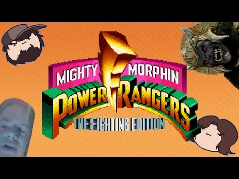Mighty Morphin Power Rangers: The Fighting Edition - Game Grumps VS