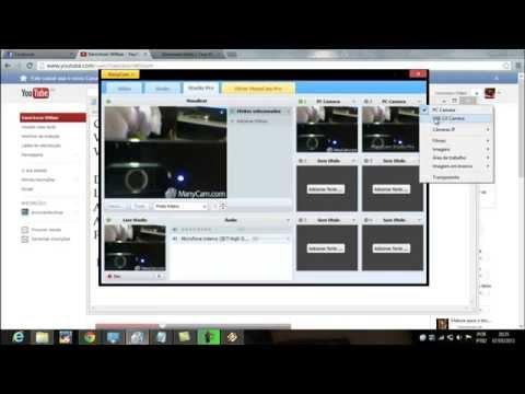 Como ativar a webcam do positivo sim+